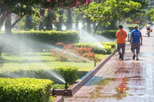 Sprinkler System Repair